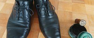 革靴のケアの仕方【コロニルのケア用品】