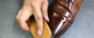 革靴のケアの仕方【コロニルとコロンブスの仕上がりの違い】